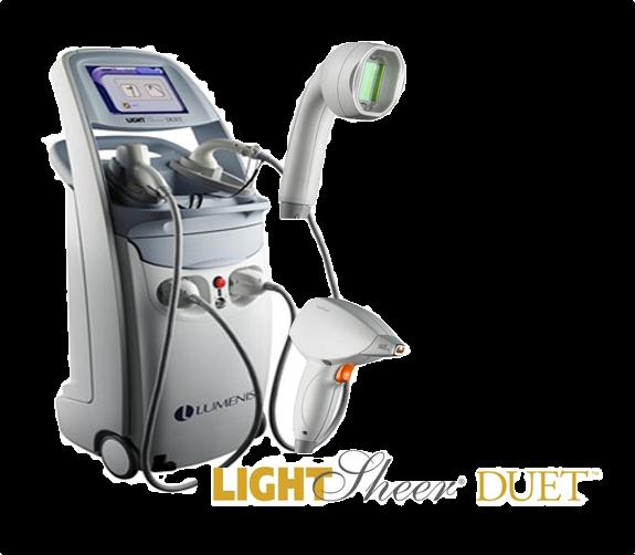 Depilacja laserowa LightSheer Duet
